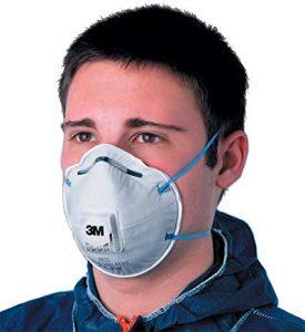 masque de peinture jetable